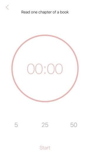 The timer setting